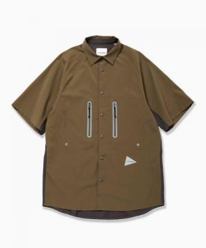 tech short sleeve shirt (khaki)
