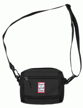 FRAME SHOULDER BAG Black