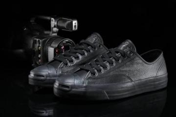 GX1000 X CONVERSE JACK PURCELL PRO OX ALL BLACK