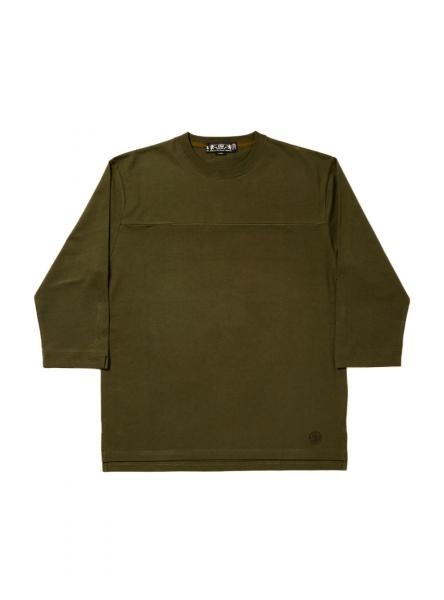HEAVY COTTON FOOTBALL TOP (1656) olive