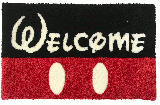 WELCOME RUG MAT (black)
