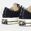 CONVERSE CHUCK TAYLOR 70 LOW TOP CANVAS(BLACK/WHT)