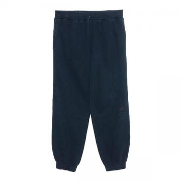 SOLID SEAM JOG PANTS BLACK