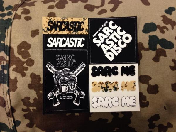 SARCASTIC STICKER SHEET