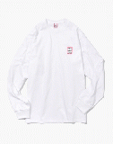 MINI FRAME L/S TEE white