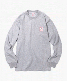 MINI FRAME L/S TEE HEATHER GREY