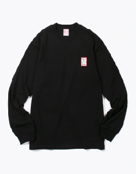 MINI FRAME L/S TEE BLACK