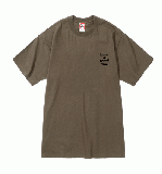 LOGO EMBROIDERED S/S TEE AMBER