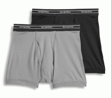2 PACK BOXER BRIEF