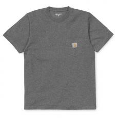 S/S POCKET T-SHIRT (I001304) Dark Grey.H