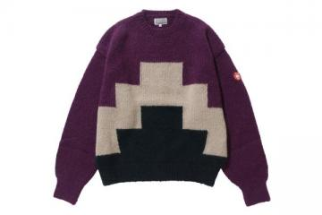 ZIGGURAT KNIT PURPLE