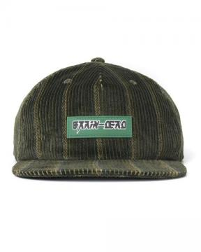 CORD FIVE PANEL HAT (GREEN)