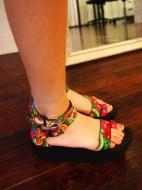 High Strapy Sandals