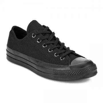 CONVERSE CHUCK TAYLOR 70 LOW TOP CANVAS ALL BLACK