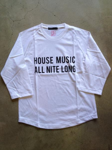 house music all night tee / eneTokyo