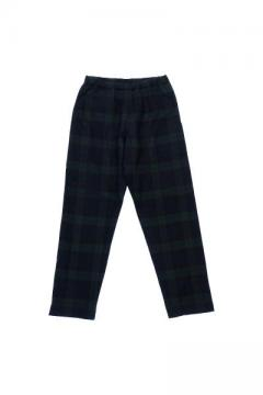 NIGHT PANTS BW WAFFLE (BLACK WATCH TARTAN)