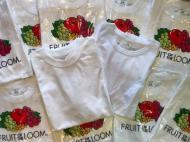 VAINL ARCHIVE x FRUIT OF THE LOOM S/S Tee white