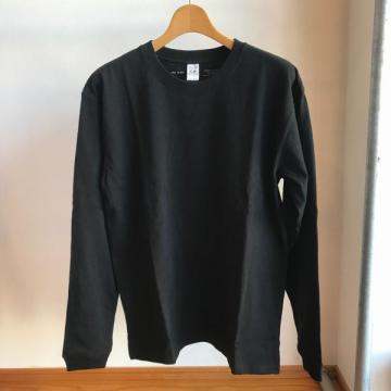 VAINL ARCHIVE x FRUIT OF THE LOOM L/S Tee black