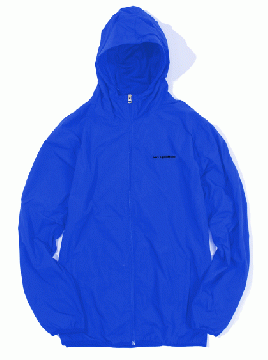 SIDE LOGO NYLON TRACK JACKET blue