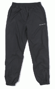 LOGO NYLON TRACK PANTS black