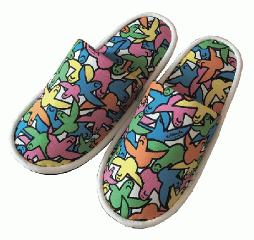 GONZ ANGEL ROOMSHOES (rainbow)