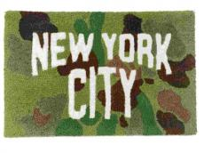 NYC CAMO RUG  (DUCK HUNTER)