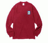 MINI BLUE FRAME L/S TEE CHERRY