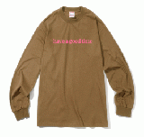 SIDE LOGO L/S TEE CINNAMON