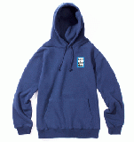 MINI BLUE FRAME PULLOVER HOODIE AZURE