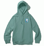 MINI BLUE FRAME PULLOVER HOODIE BLUE STONE