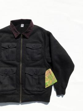 Boa FLeece Pilot Jacket (BLACK)