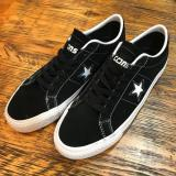 CONVERSE CONS ONE STAR PRO LOW TOP SUEDE BLK 2018