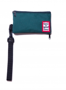 FRAME POUCH DARK GREEN