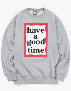 FRAME CREWNECK grey