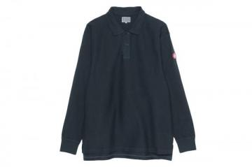 OVERDYE RIB LONG SLEEVE POLO