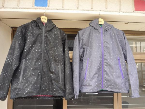 VOO × RAMBLE 3Layer Mountain Parka (Dot)
