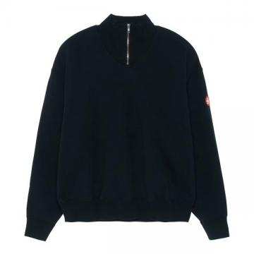HALF ZIP CASUAL SWEAT