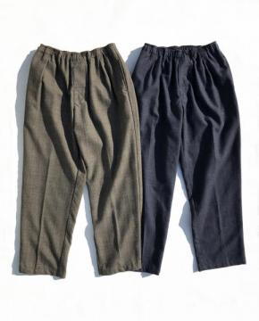 Wool Glen Check Slacks