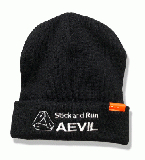 AEVIL KNIT CAP (BLACK)