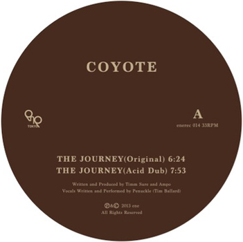 enerec 014 COYOTE The Journey EP