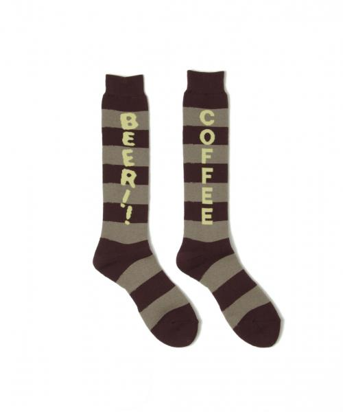 WANT THIS ! SOCKS (164) BROWN