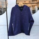 Quarter-HOODY (Navy-Blue)