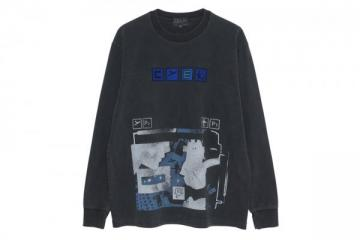 OVERDYE FLIGHT LONG SLEEVE T