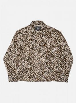 HARRNGTON JACKET (LEOPARD)