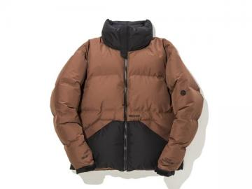 VAINL ARCHIVE×Marmot Down Jacket (Brown)