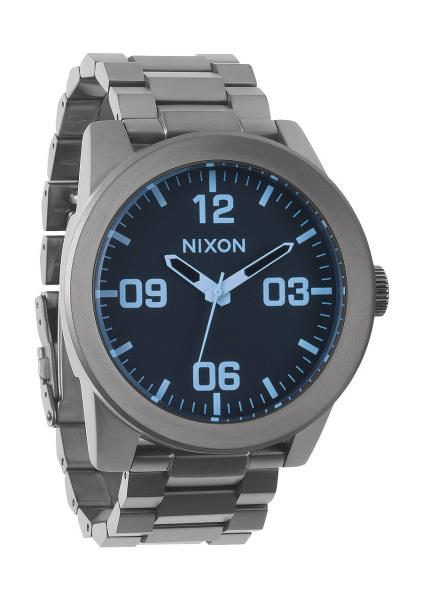 THE CORPORAL SS Gunmetal / Blue Crystal