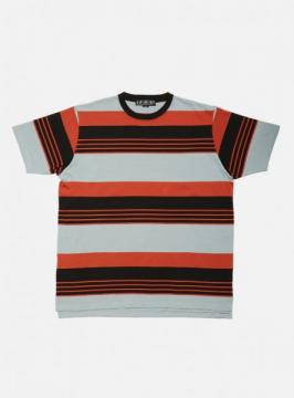 MULTI STRIPE TEE (SLATE)
