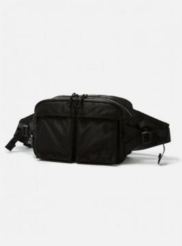 BAL/PORTER® FLGHT NYLON WAIST BAG (BLACK)