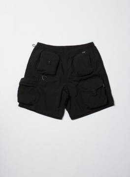 MULTI POCKET SHORT BLACK