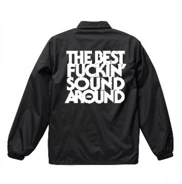 TILT NYLON COACH JACKET (BLACK)